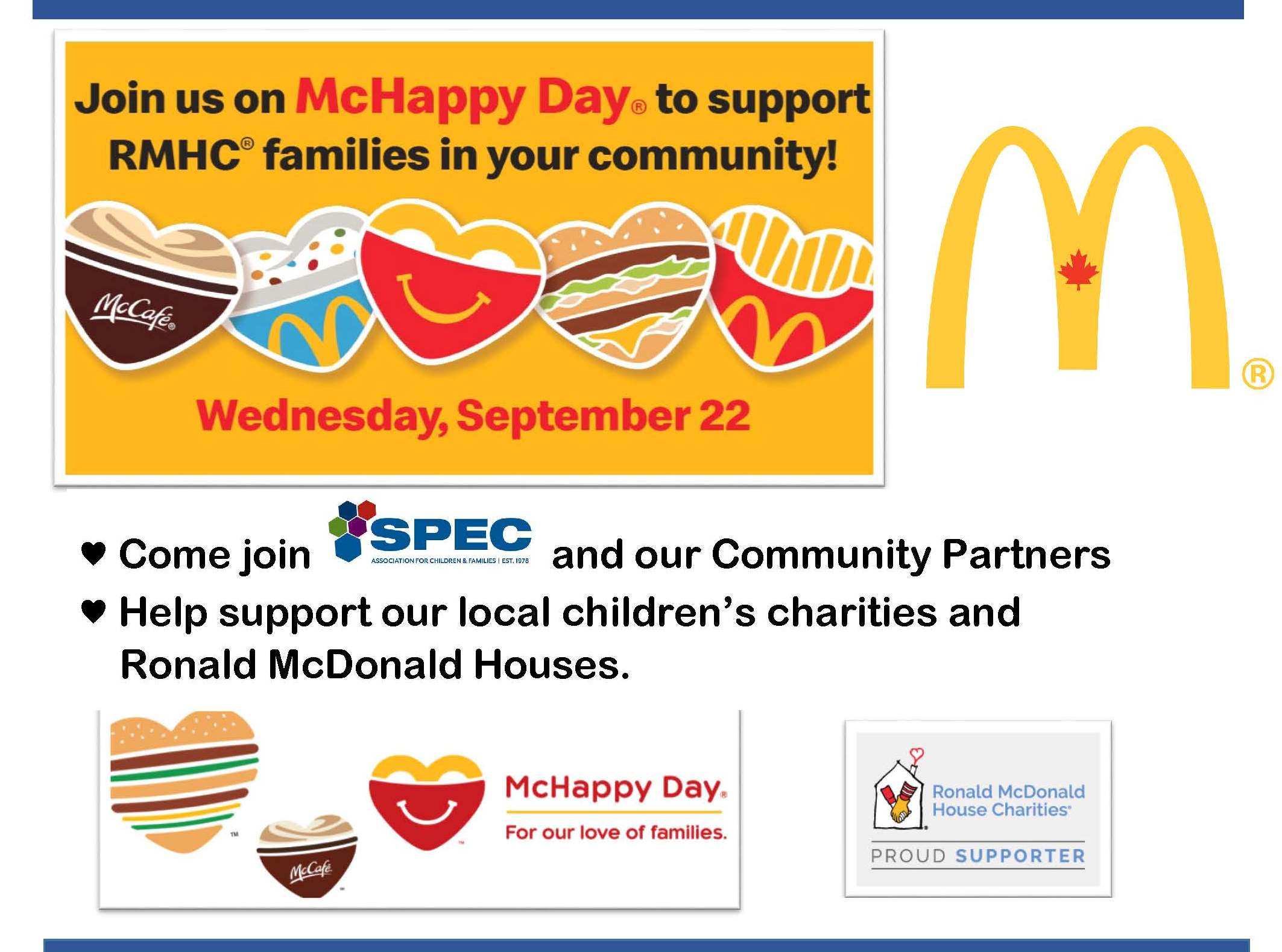 McHappy Day September 22nd